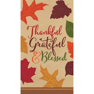 Autumn Traditions Fall Guest Towels 36ct