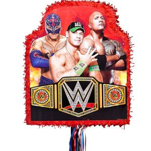 Pull String Red WWE Pinata