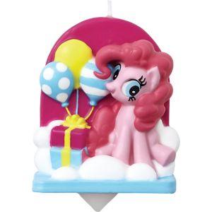 Wilton Pinkie Pie Birthday Candle - My Little Pony