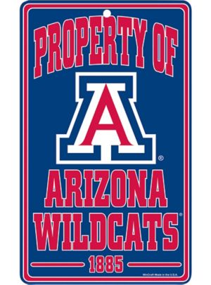 Property of Arizona Wildcats Sign