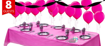 Mis Quince Birthday Basic Party Kit
