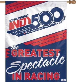 101st Indy 500 Banner Flag