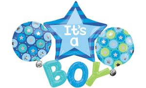 Boy Baby Shower Balloon - Giant Celebrate