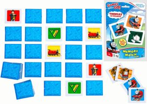 Thomas the Tank Engine Memory Match Game Bag