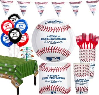 Rawlings Baseball Super Party Kit for 8 Guests