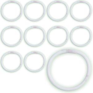 White Glow Bracelets 12ct