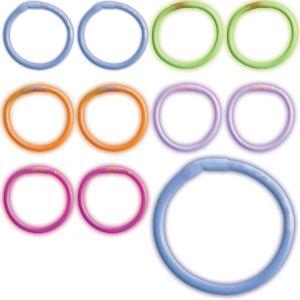 Multicolor Glow Bracelets 180ct