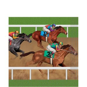 Horse Racing Lunch Napkins 16ct