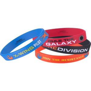 Star Wars 7 The Force Awakens Wristbands 4ct