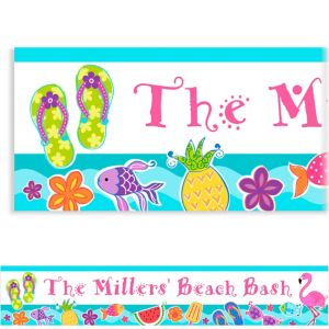 Custom Summer Fun Banner 6ft