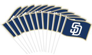 San Diego Padres Mini Flags 12ct