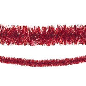 Red Boa Tinsel Garland