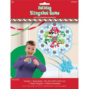 Christmas Slingshot Game
