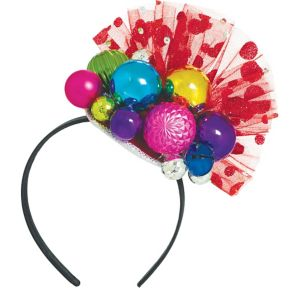 Holiday Ornament Fascinator Headband