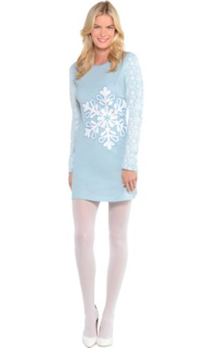 Snowflake Long-Sleeve Dress