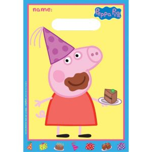 Peppa Pig Favor Bags 8ct