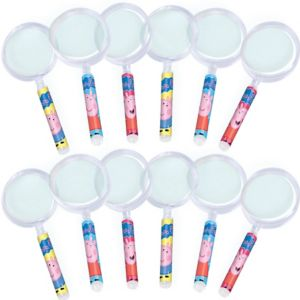 Peppa Pig Magnifying Glasses 12ct