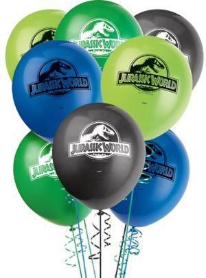 Jurassic World Balloons 8ct