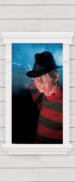 Freddy Krueger Window Poster - A Nightmare on Elm Street