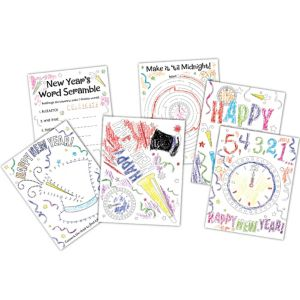 New Year's Activity Sheets 30ct