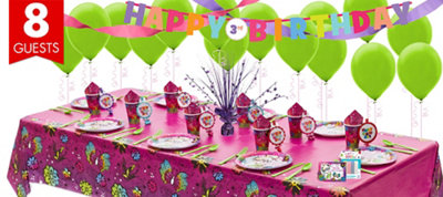 Keep Flying Tinker Bell Super Party Kit for 8 Guests