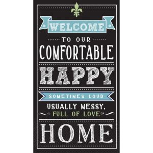 Chalkboard Happy Home Guest Towels 16ct
