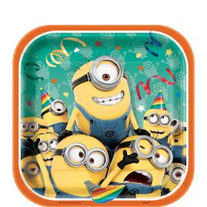 Despicable Me Dessert Plates 8ct