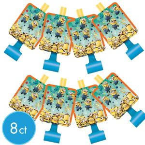 Despicable Me Blowouts 8ct