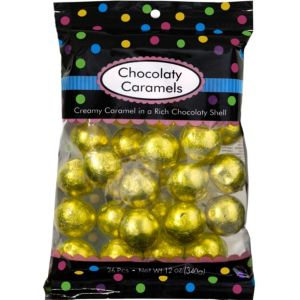 Yellow Caramel Balls 26pc