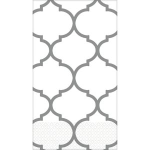 Silver Lattice Premium Guest Towels 16ct