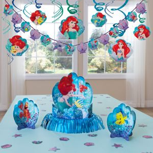 Little Mermaid Party Decorations Kit