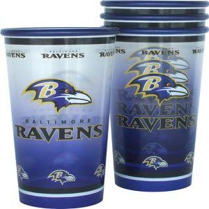 Baltimore Ravens Tumblers 4ct