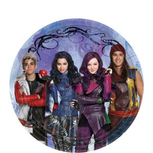 Disney Descendants Dessert Plates 8ct