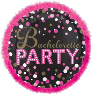 Bachelorette Party Balloon - Boa Sassy Bride