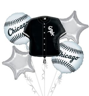 Chicago White Sox Balloon Bouquet 5pc - Jersey