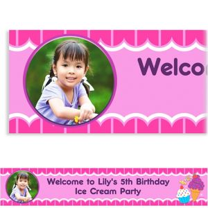 Custom Sweet Shop Photo Banner