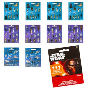 Star Wars Sticker Book 9 Sheets