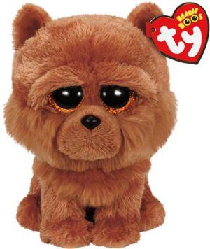 Barley Beanie Boo Chow Chow Dog Plush