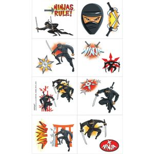 Ninja Tattoos 1 Sheet