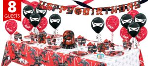 Ninja Party Supplies Super Party Kit