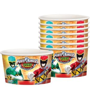Power Rangers Treat Cups 8ct