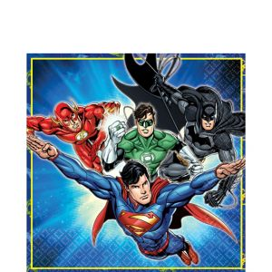 Justice League Lunch Napkins 16ct