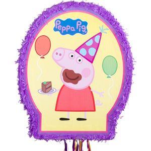 Pull String Peppa Pig Pinata