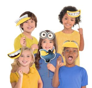 Despicable Me Photo Booth Props 8ct