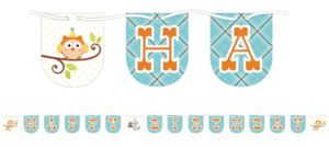 Boy Birthday Banner - Happi Woodland
