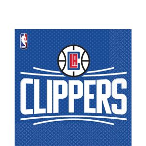Los Angeles Clippers Lunch Napkins 16ct