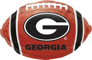 Georgia Bulldogs Balloon - Football