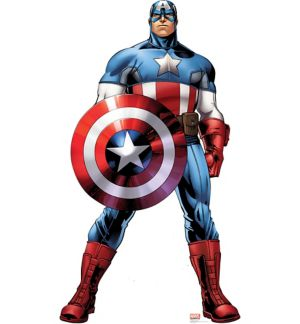 Captain America Life-Size Cardboard Cutout - Avengers