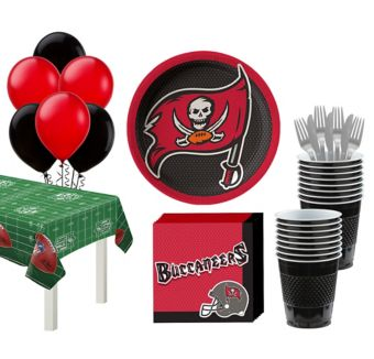 Tampa Bay Buccaneers Super Party Kit for 18 Guests