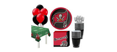 Tampa Bay Buccaneers Super Party Kit